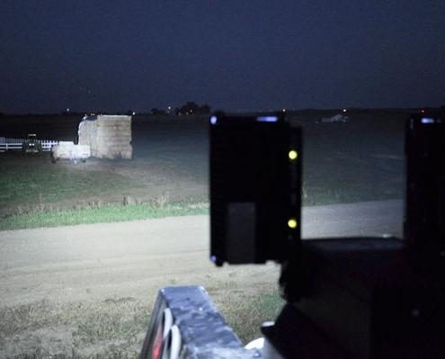 Command Light, C-Light Series, LED Light Tower, Fire Truck Lights, C-Light shining light in filed
