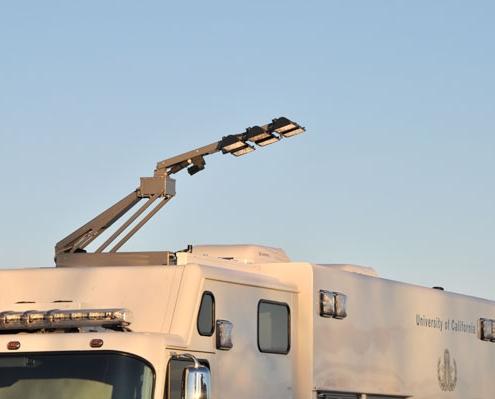 Command Light, Knight Series, LED Light Tower, Fire Truck Lights, Command Light on Fire Truck flexibility