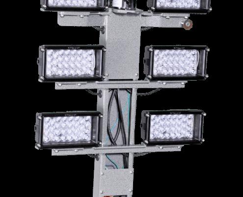 Command Light, Strobe Option, LED Light Tower, Fire Truck Lights