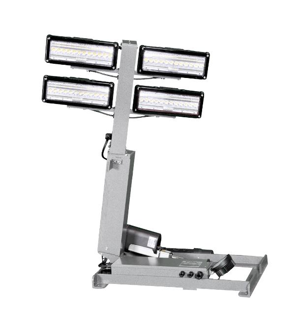 Command Light, Shadow Series, LED Light Tower, Fire Truck Lights