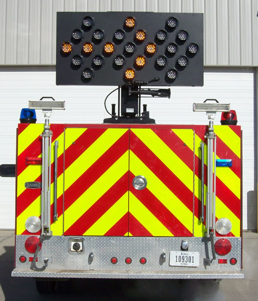 Command Light, Traffic Flow Board, LED Light Tower, Fire Truck Lights